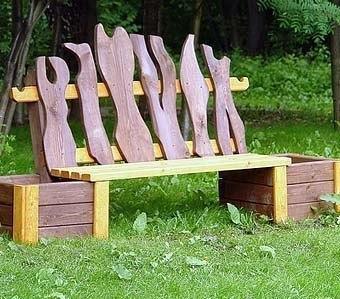 Дачные скамейки - для всей семейки!. Дачные скамейки - для всей 2