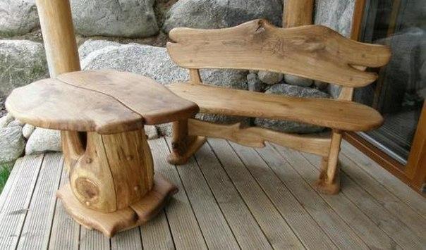 Дачные скамейки - для всей семейки!. Дачные скамейки - для всей 4