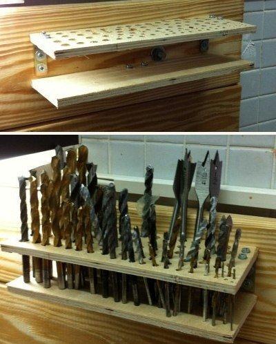 Как организовать хранение садового инвентаря и строительных инструментов