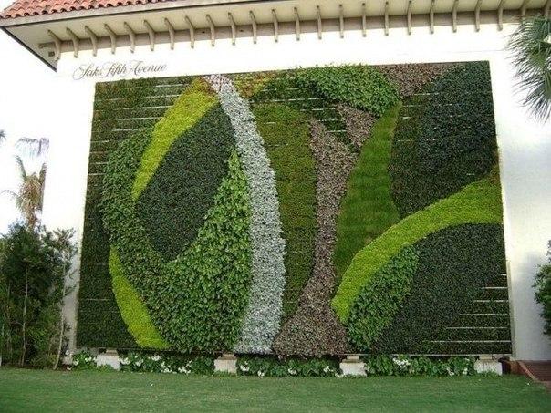 Потрясающие вертикальные сады!
