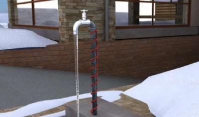Как защитить водопроводные трубы от замерзания?.