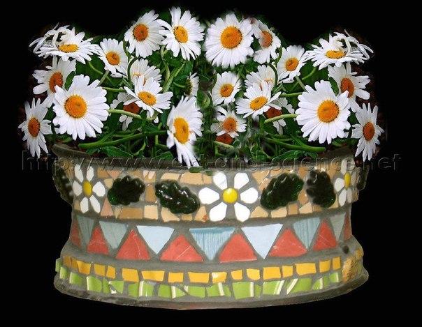 Вазоны для цветов своими руками, для сада. Вазоны для цветов своими 2
