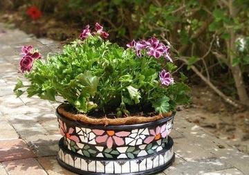 Вазоны для цветов своими руками для сада