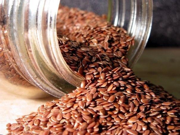 Семена льна для лечения пищеварительного тракта и очищения кровеносных сосудов