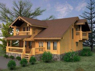 Дома из дерева: какие они бывают?