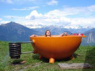 Мобильная горячая ванная комната