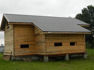 Ондулин? Выбираем крышу для деревянного дома