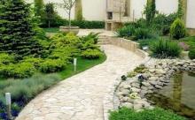 Правила стильного дизайна: дорожки в саду